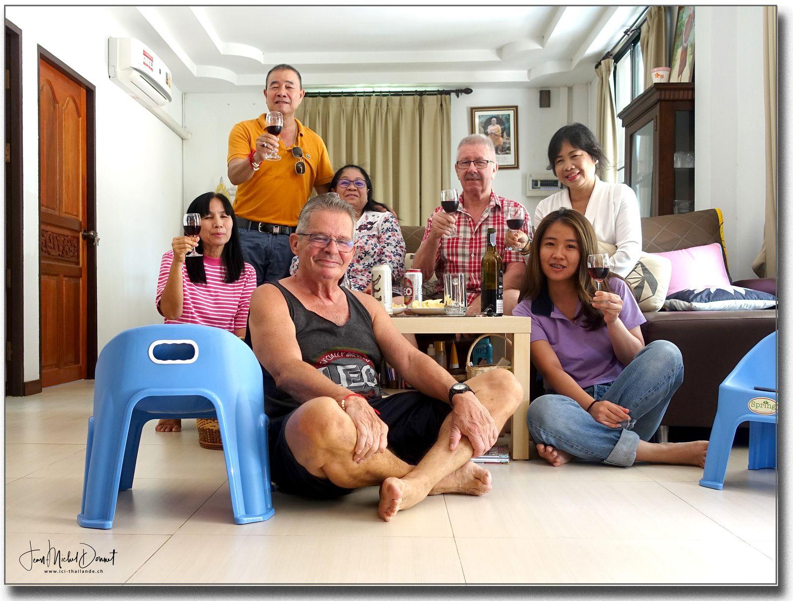 Repas de la fête des mères (Thaïlande)