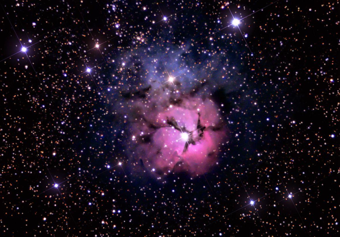 Voie lactée et nébuleuses à Arrens-Marsous
