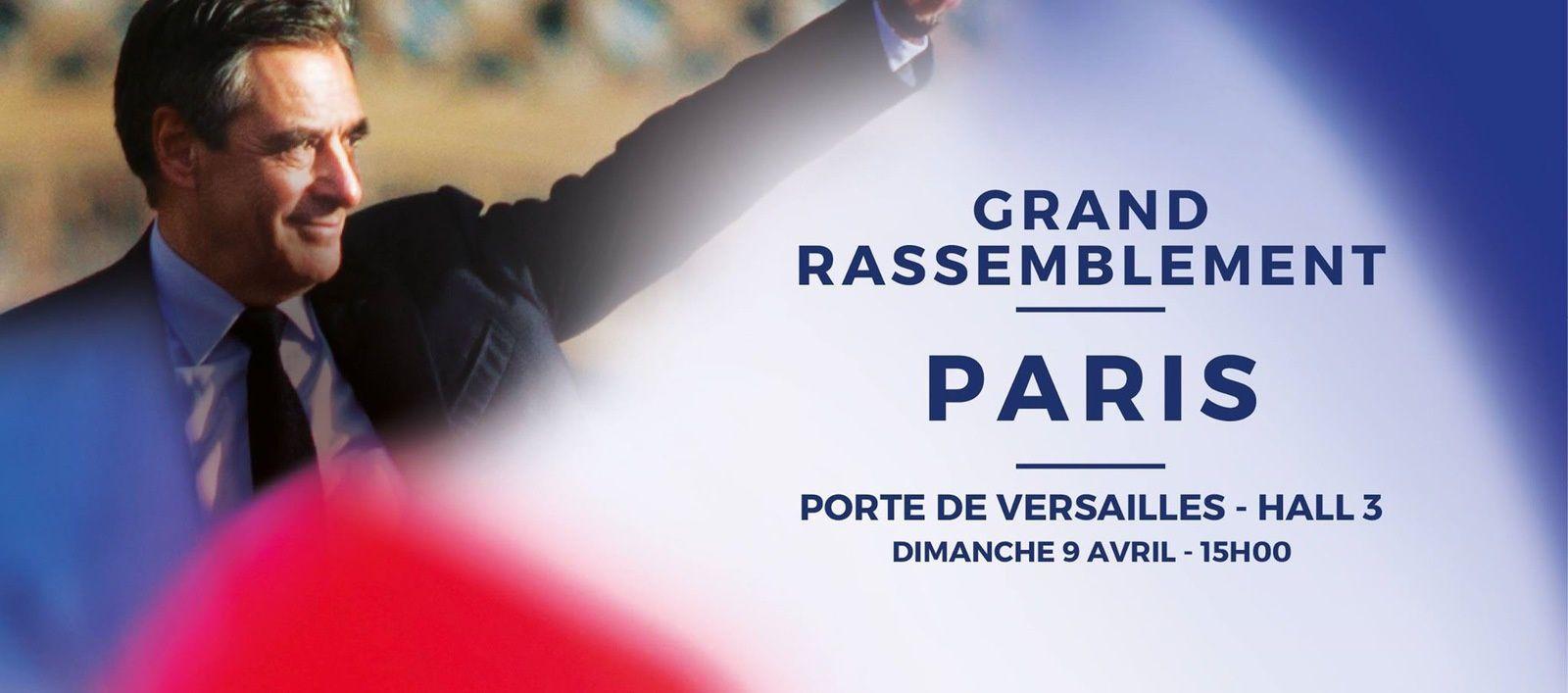 Meeting porte de Versailles dimanche 9 avril