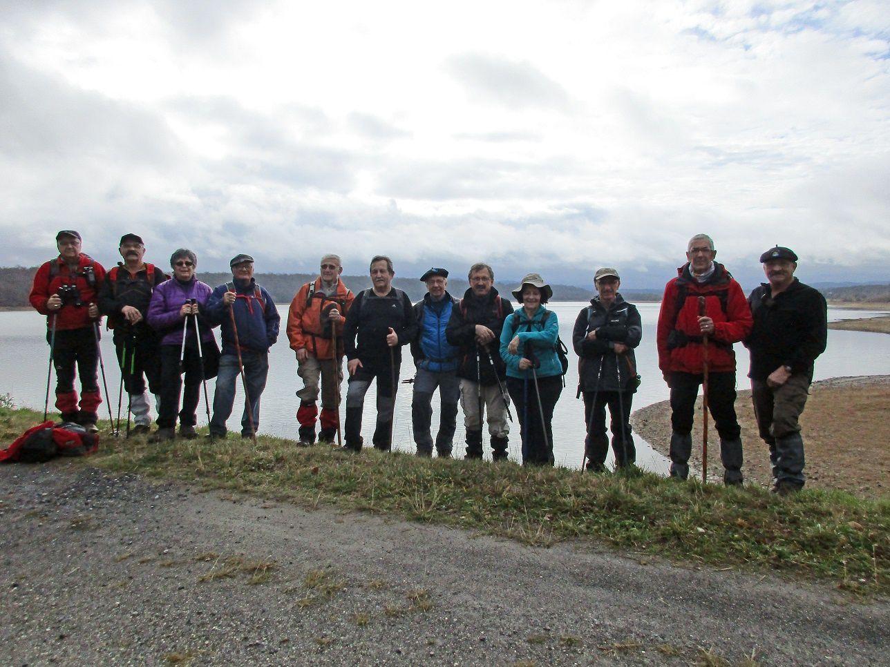 Lundi 1er février - Lacs Puydarrieux et Castelnau