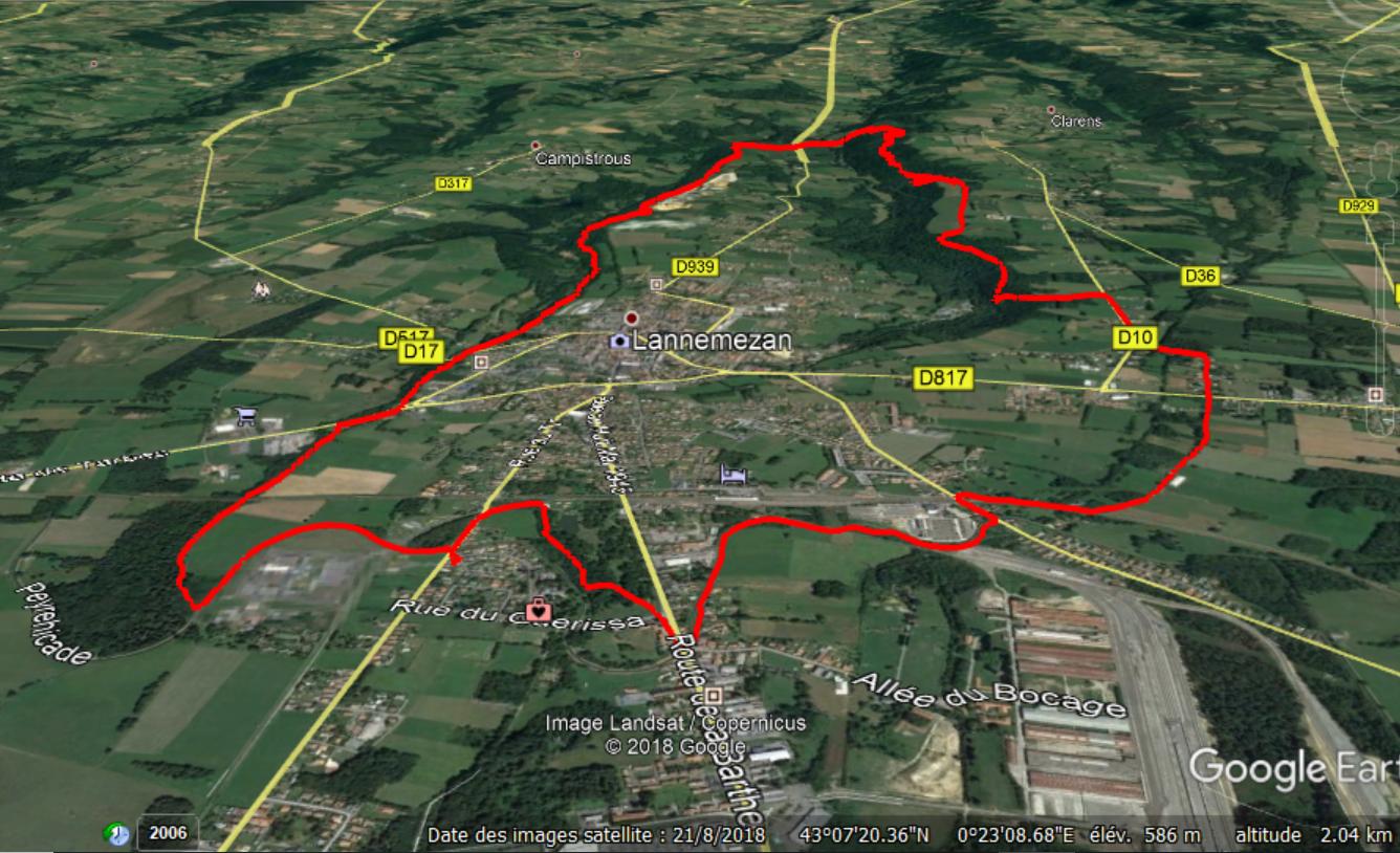 Album 053 - Circuit autour de Lannemezan