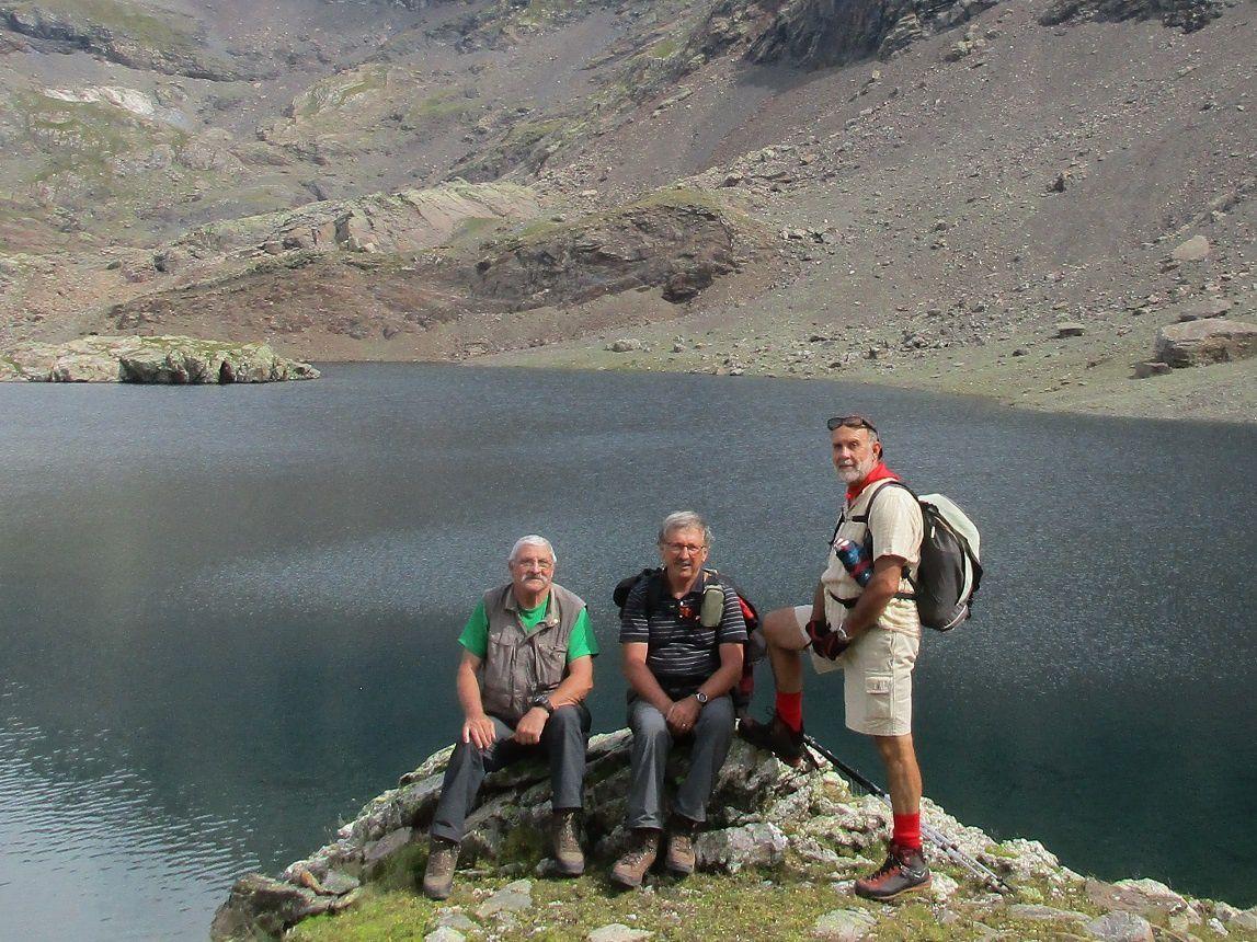 Lundi 26 août - les lacs de La Munia