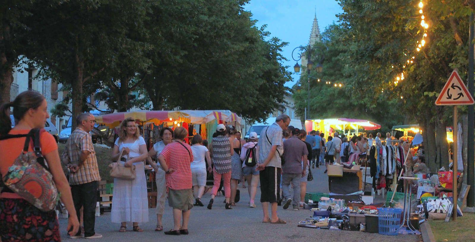 Les marchés de nuit (19 et 26 juillet, 2 et 9 août)
