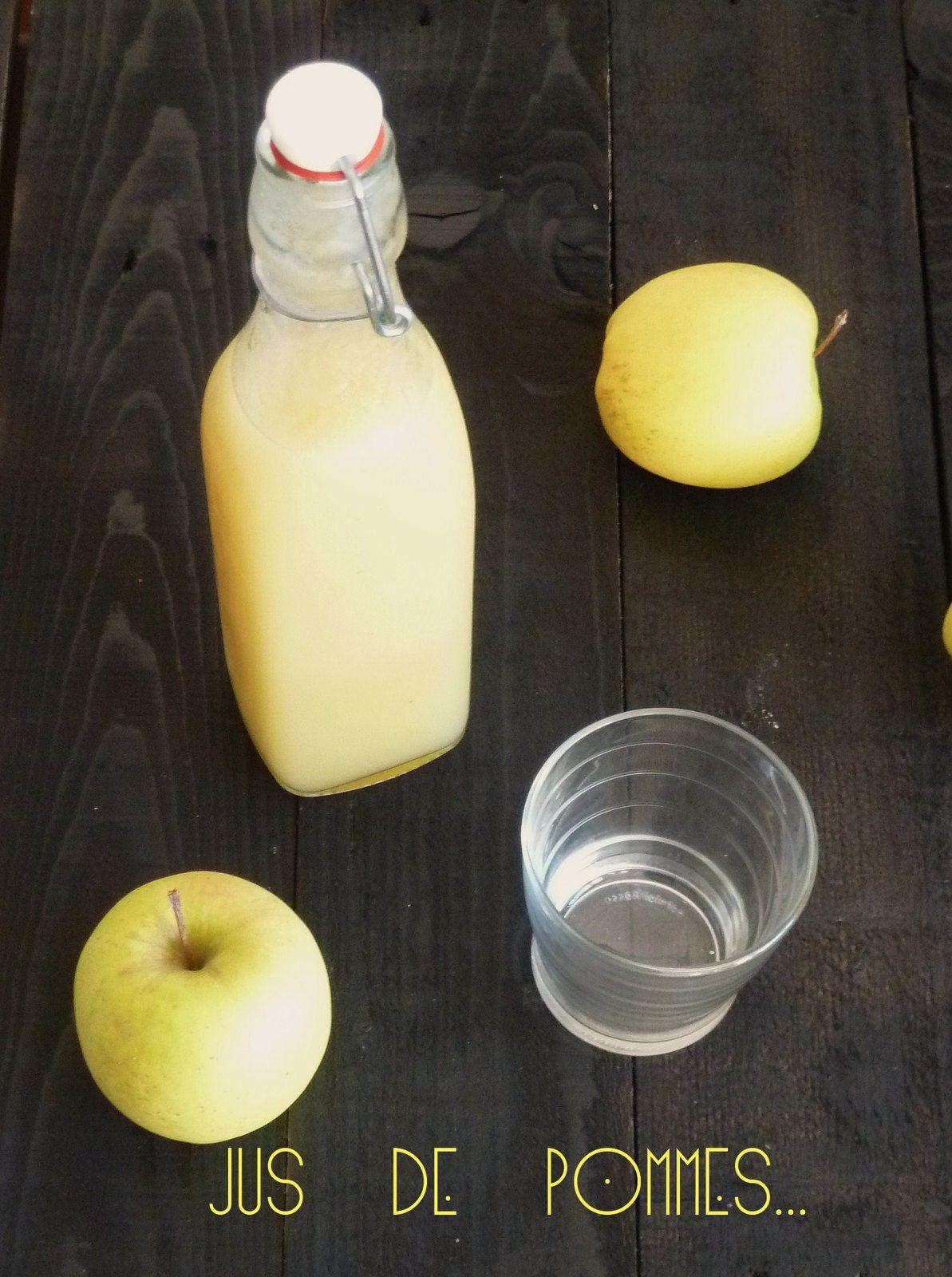 Jus de pomme maison