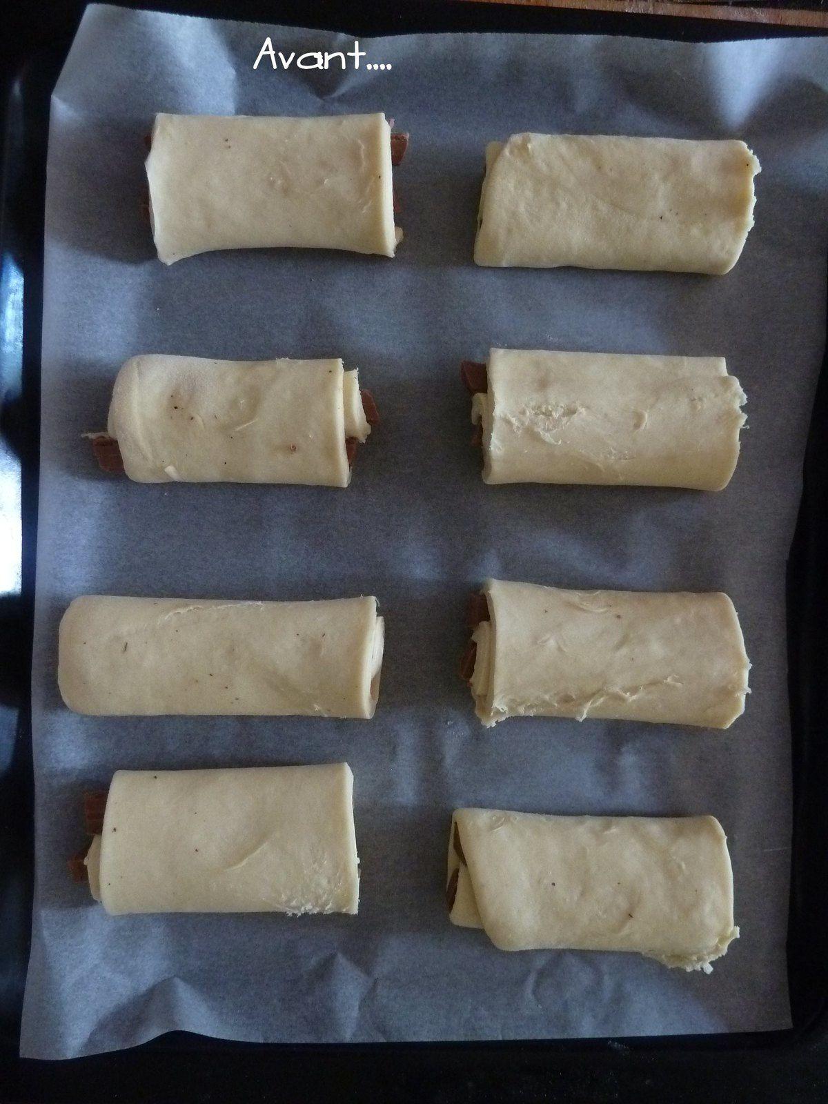 Pâte à croissants, pains au chocolat...