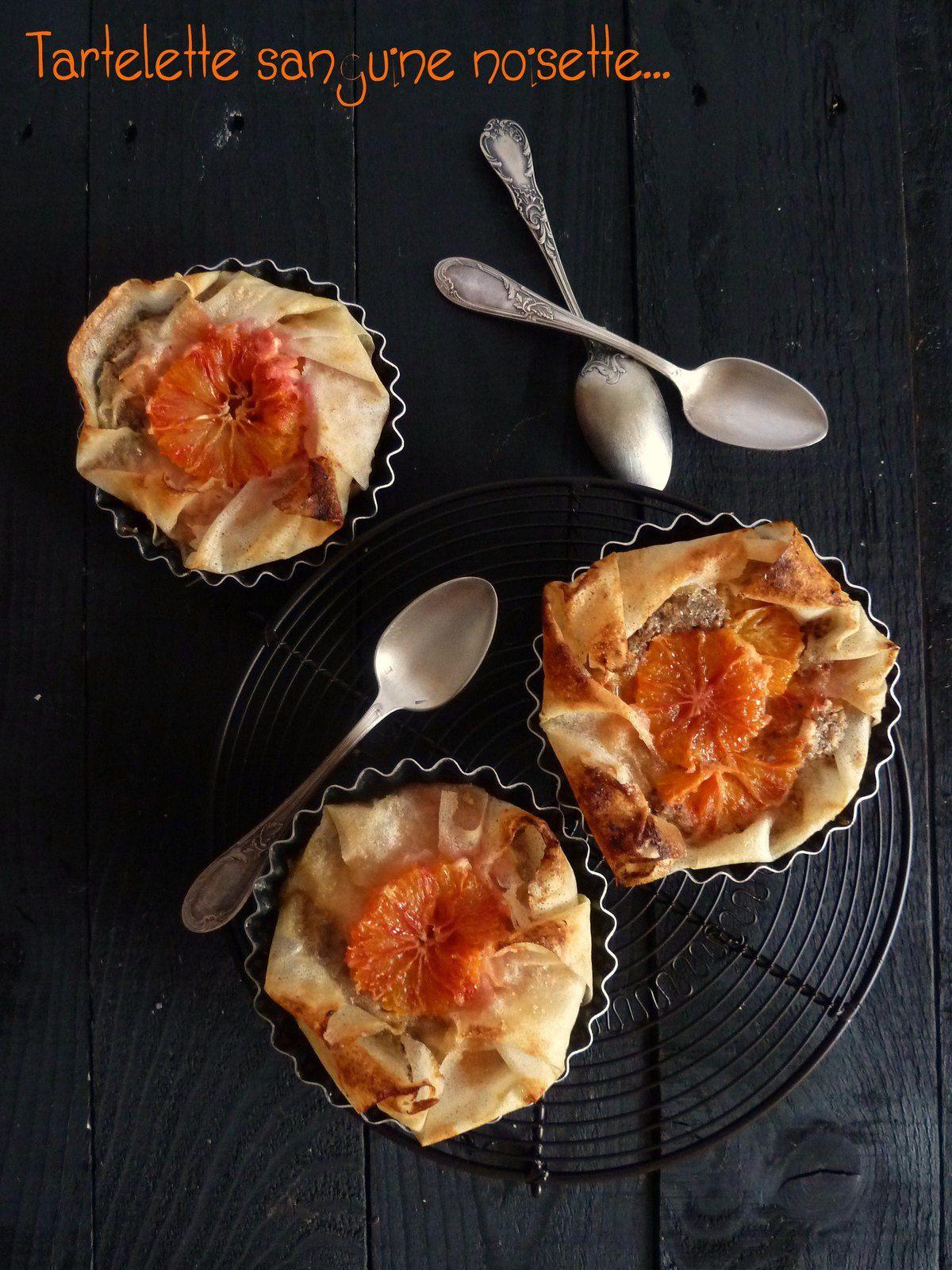 Tartelettes noisettes-oranges {Culino version selon Gut}