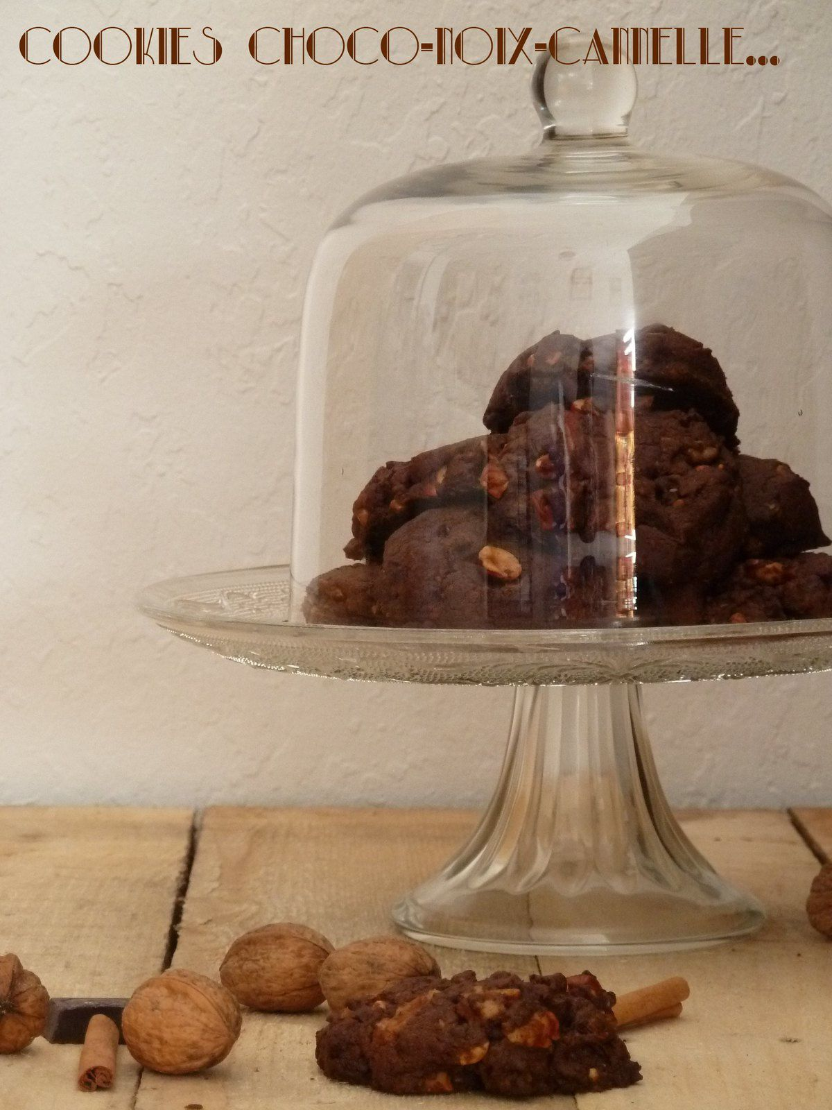 Cookies choco-noix-cannelle