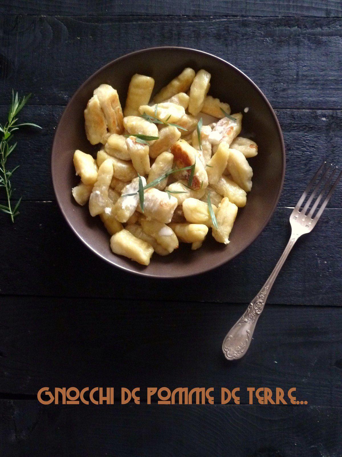 Les gnocchi de pomme de terre