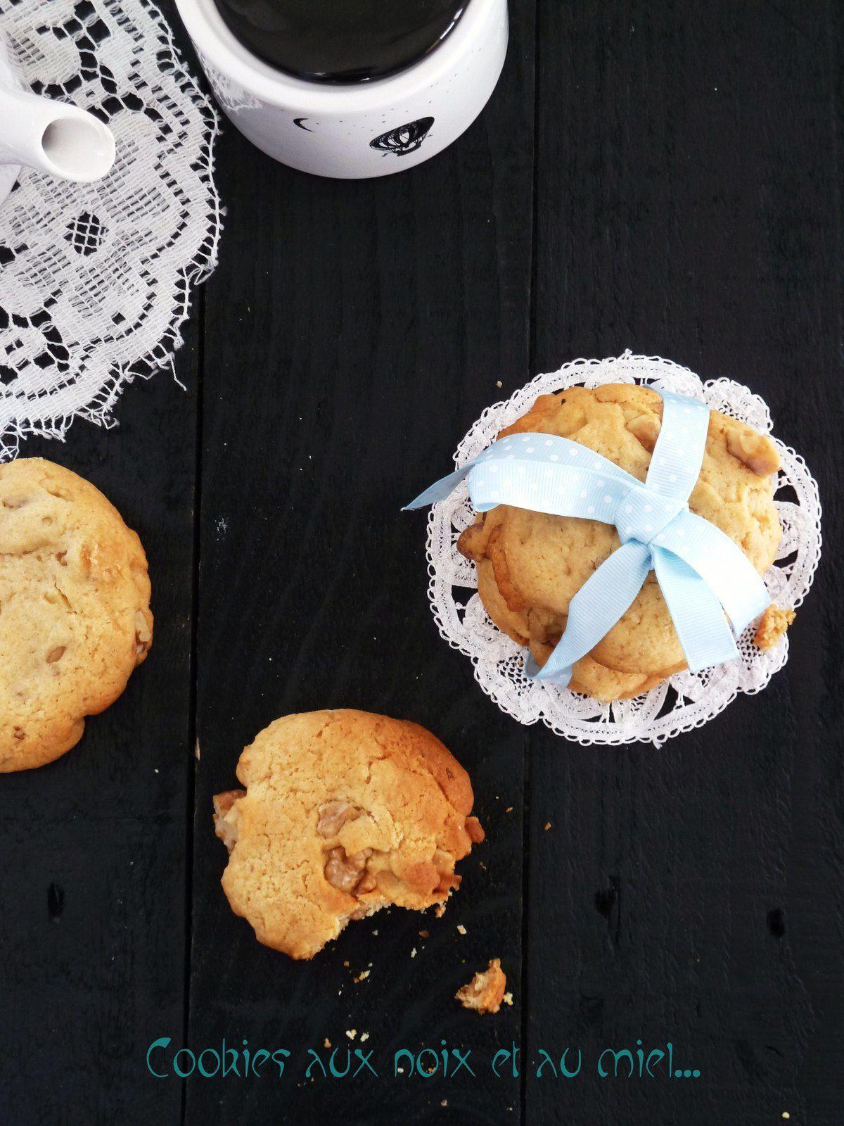Cookies aux noix et au miel
