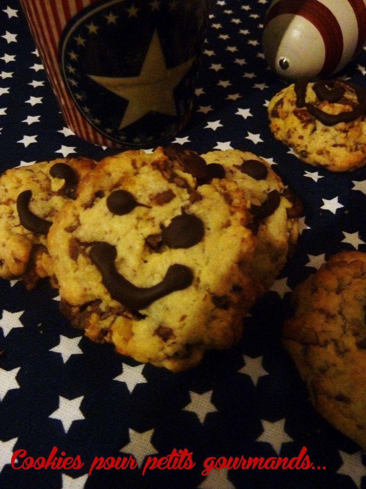 Cookies pour gourmand(e)s en culottes courtes