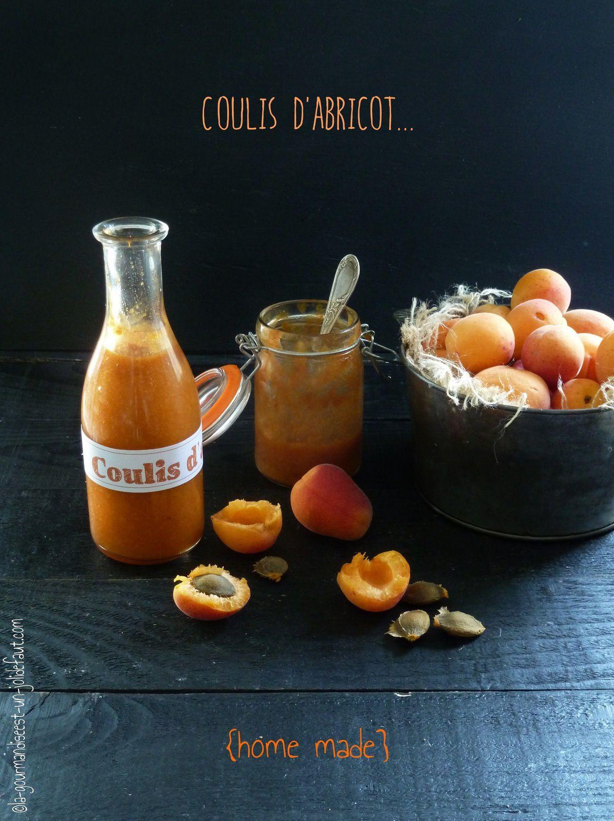 Coulis d'abricot