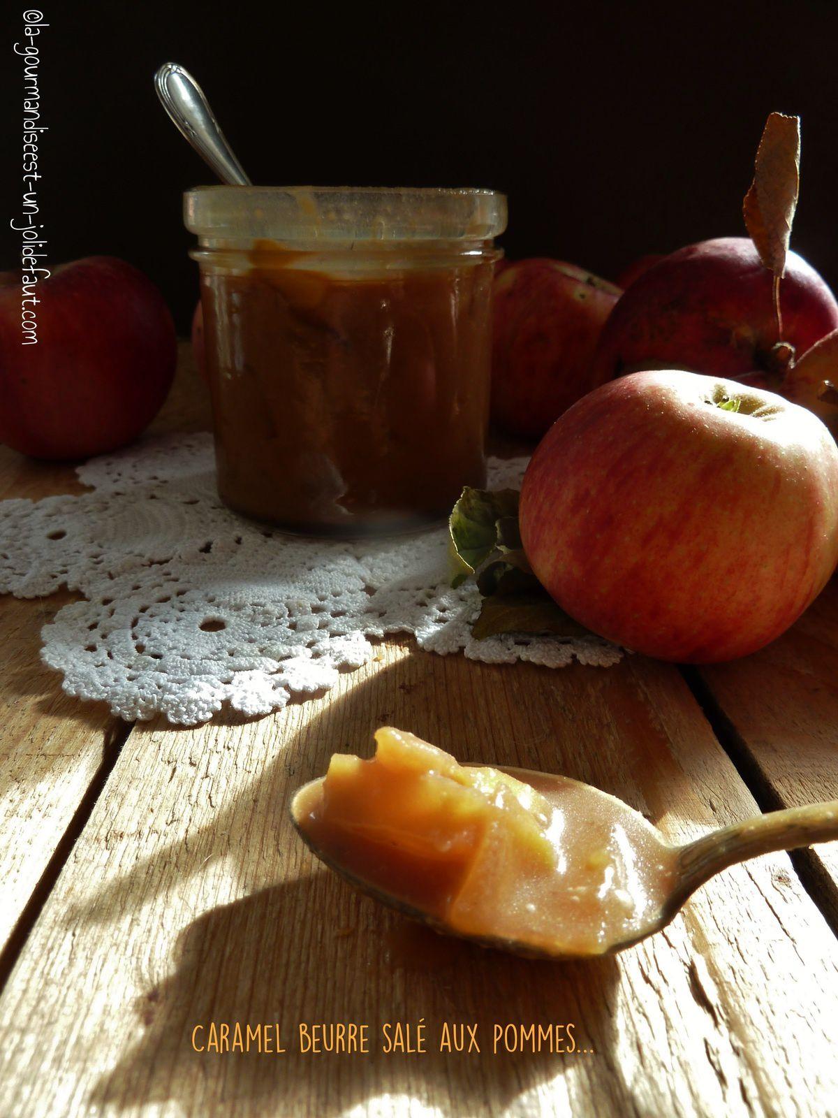 Caramel beurre salé aux pommes