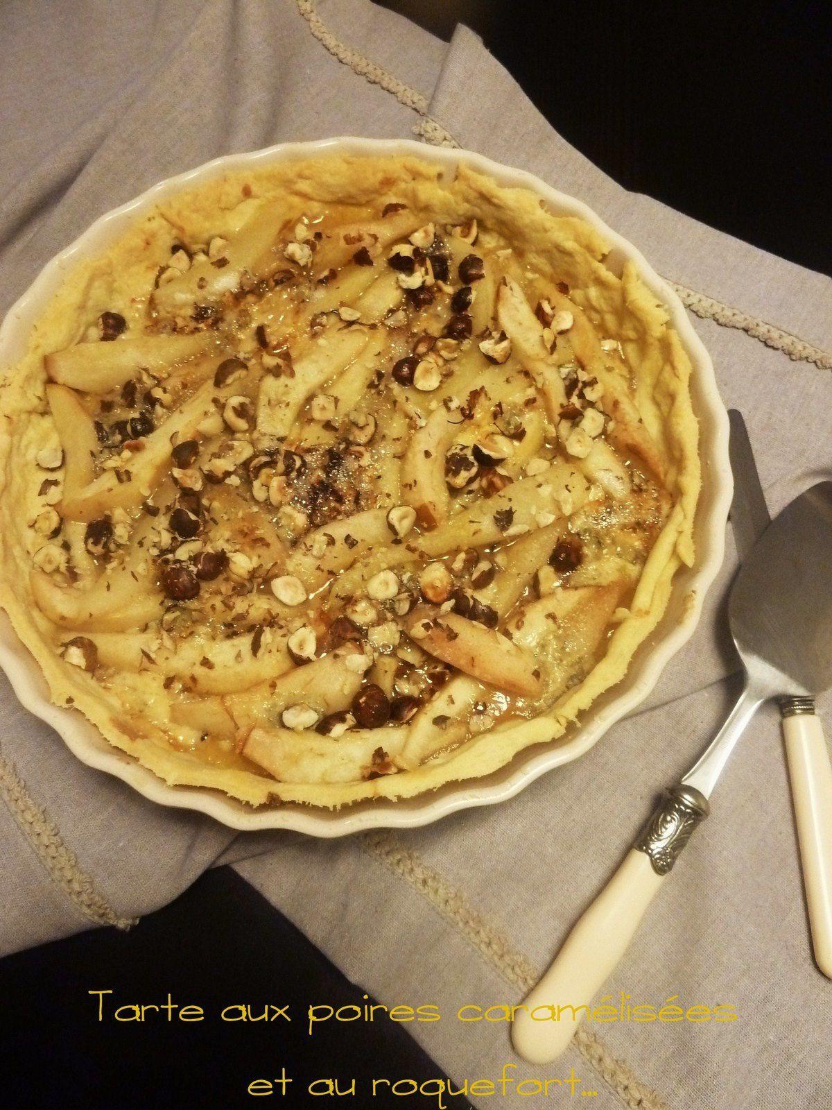 3 idées...de tarte salée aux poires - la gourmandise est un joli défaut