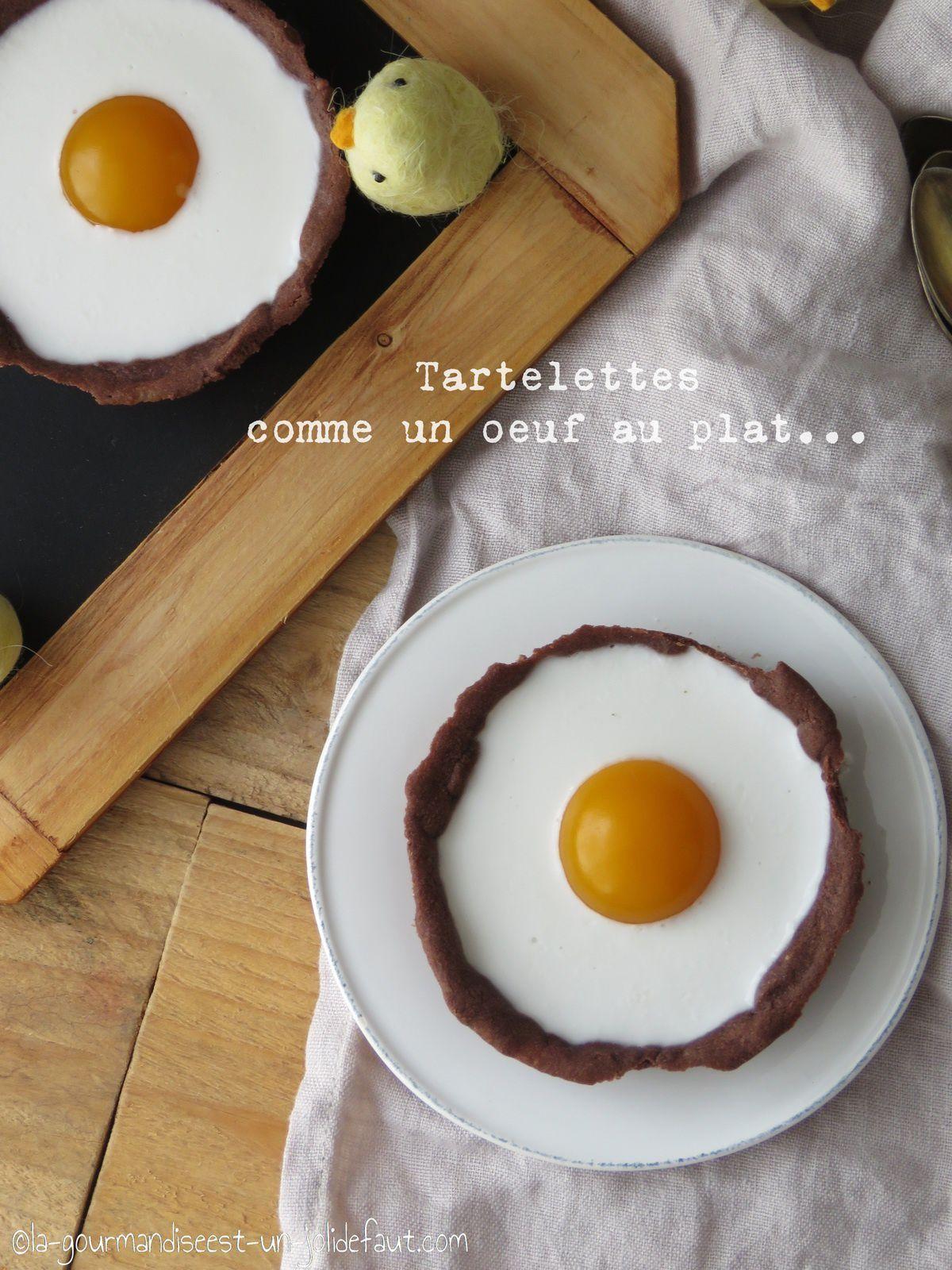 Tartelettes comme des oeuf au plat