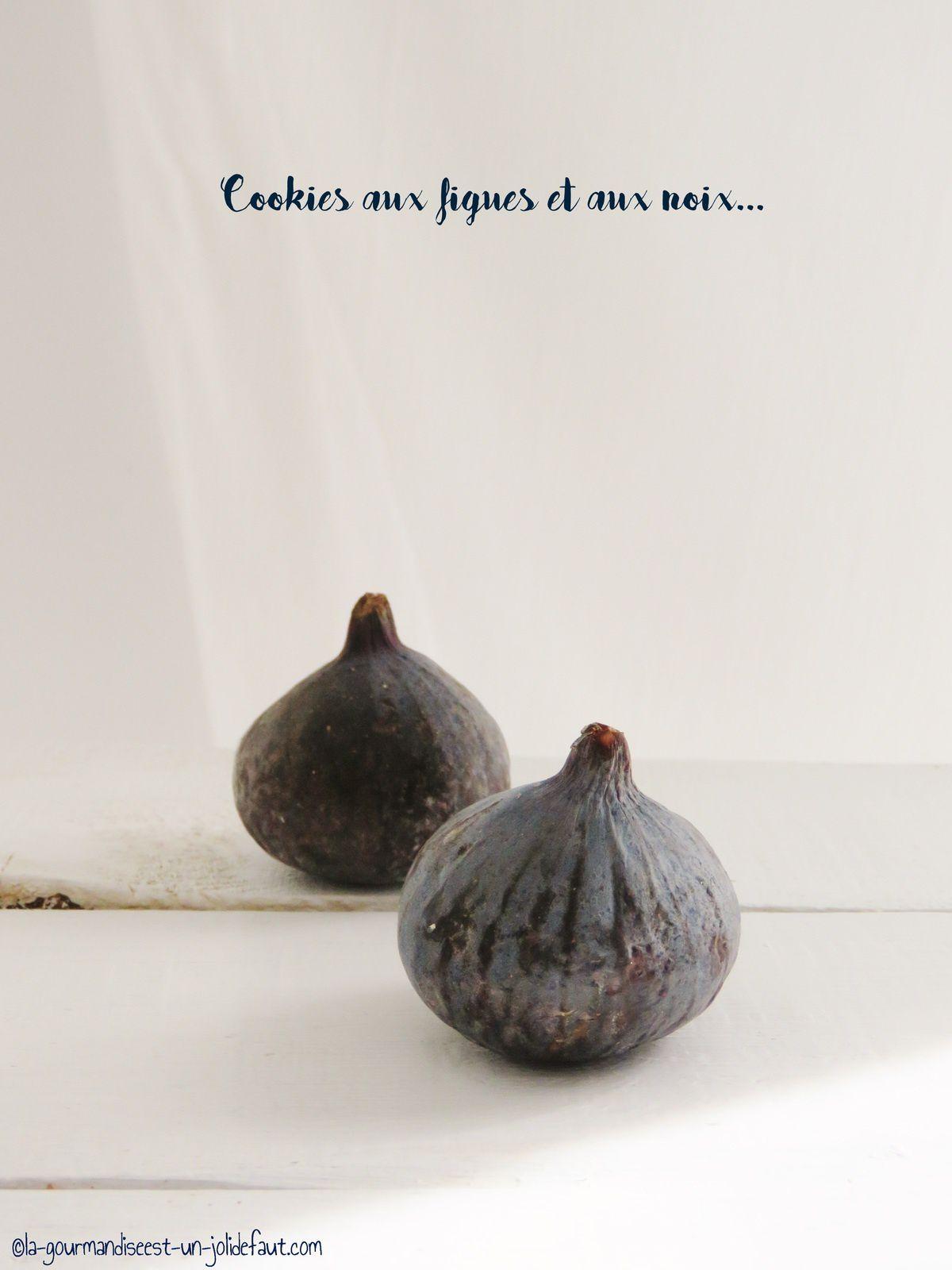 Cookies aux noix et aux figues