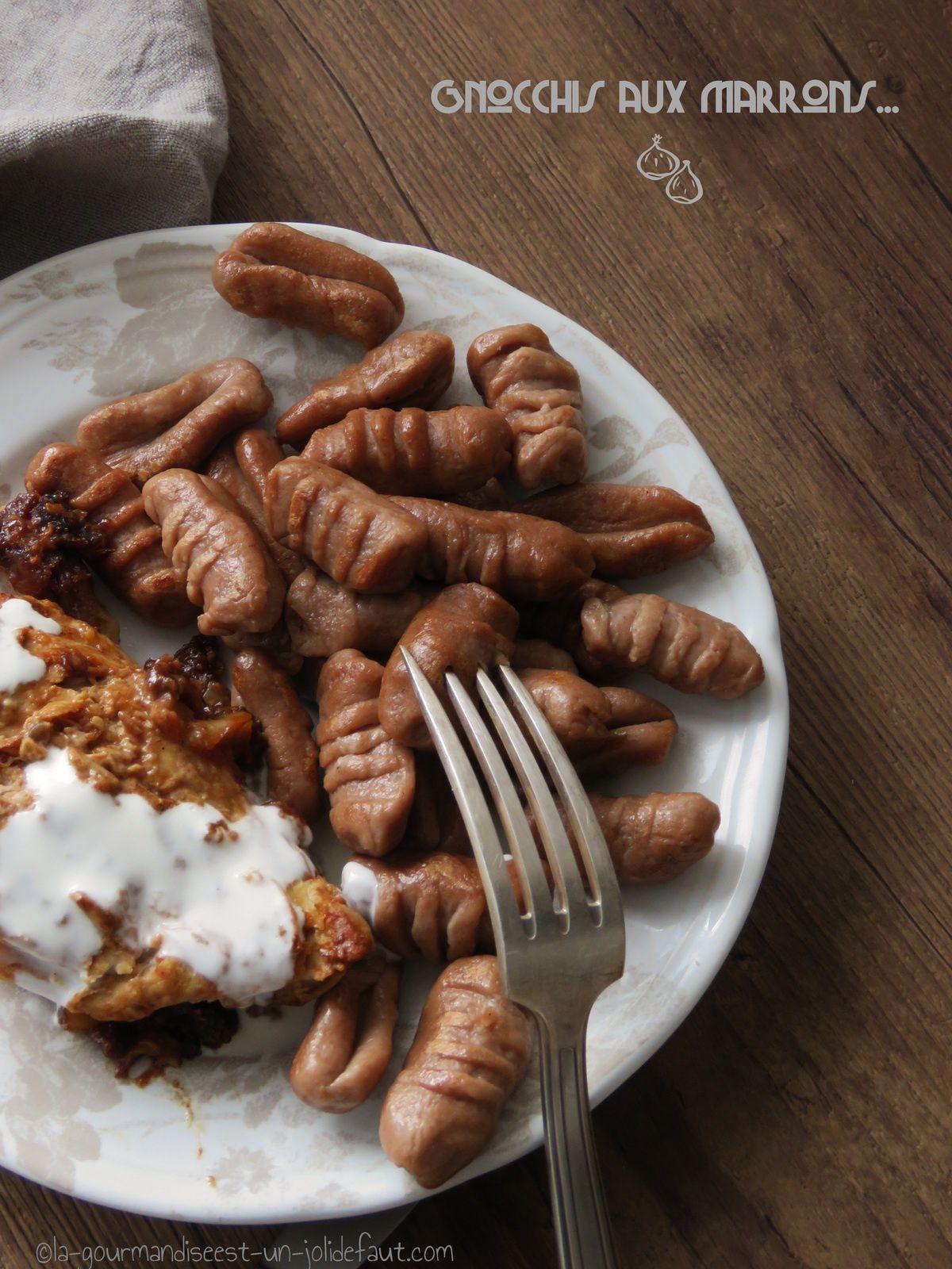 Gnocchis aux marrons