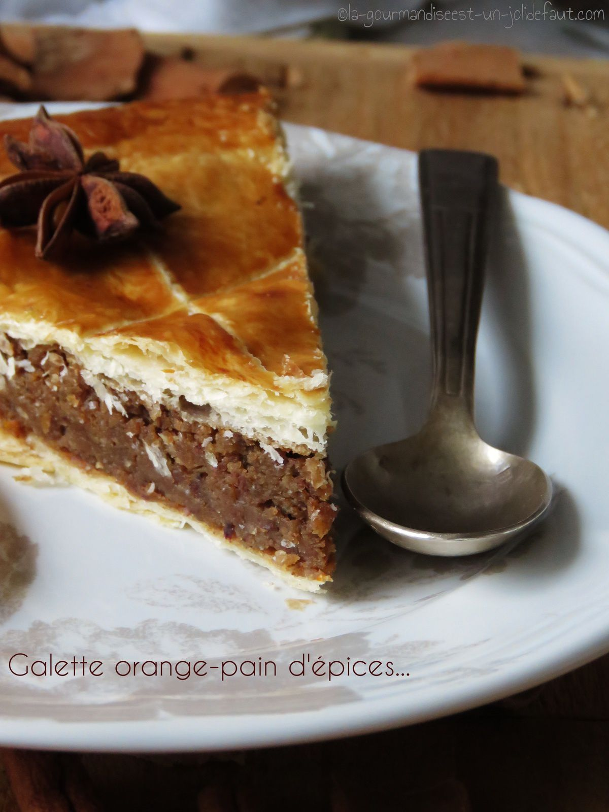 Galette orange-pain d'épice