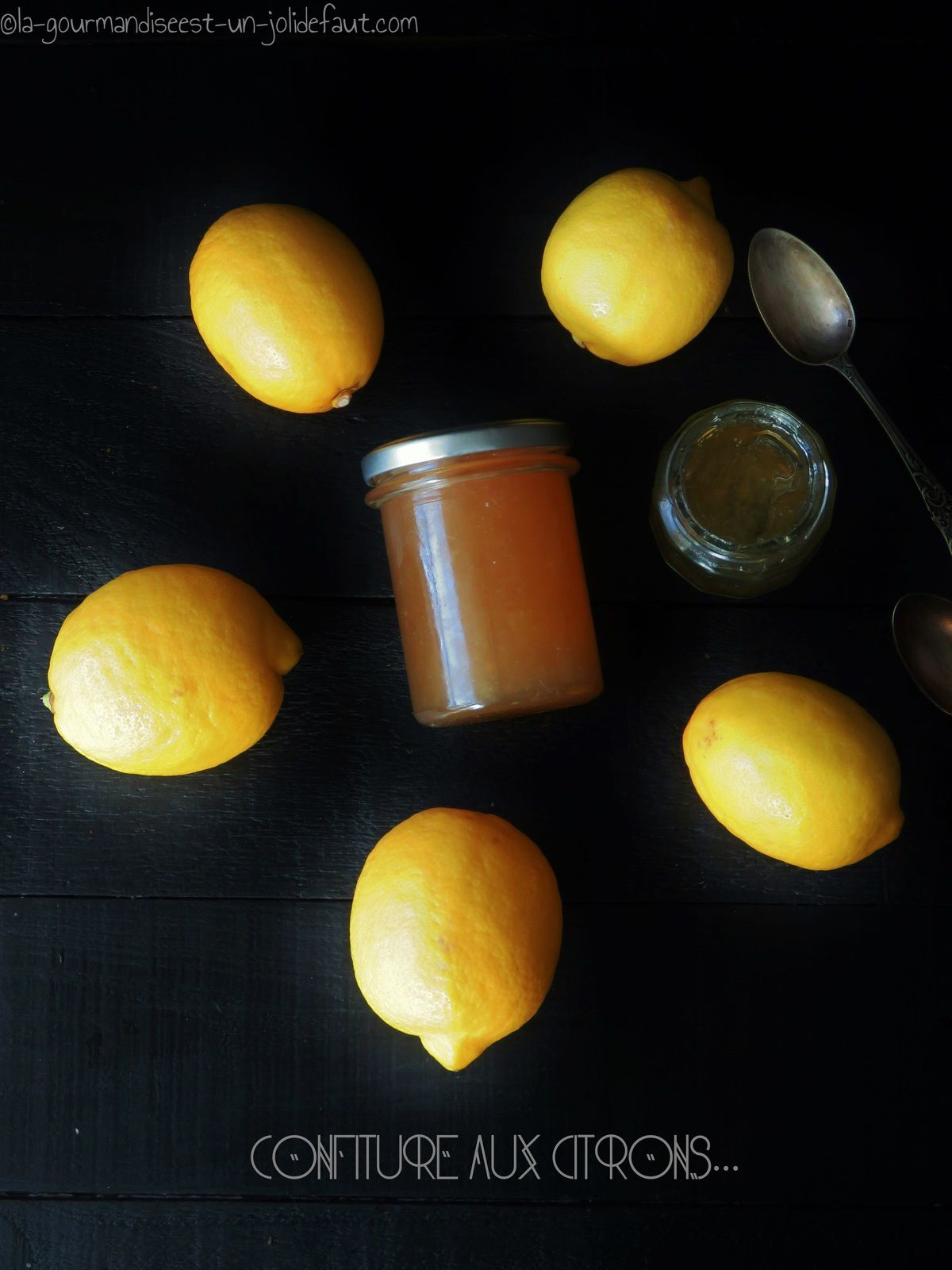 Confiture de citron et bergamote