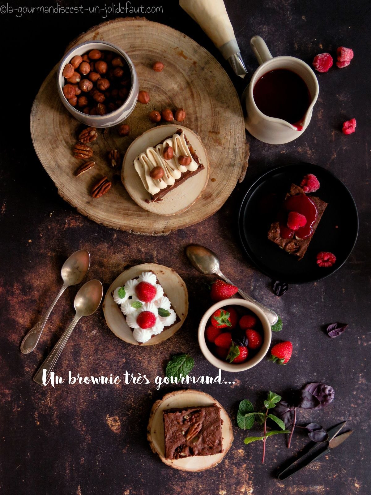THE brownie et comment upgrader la gourmandise