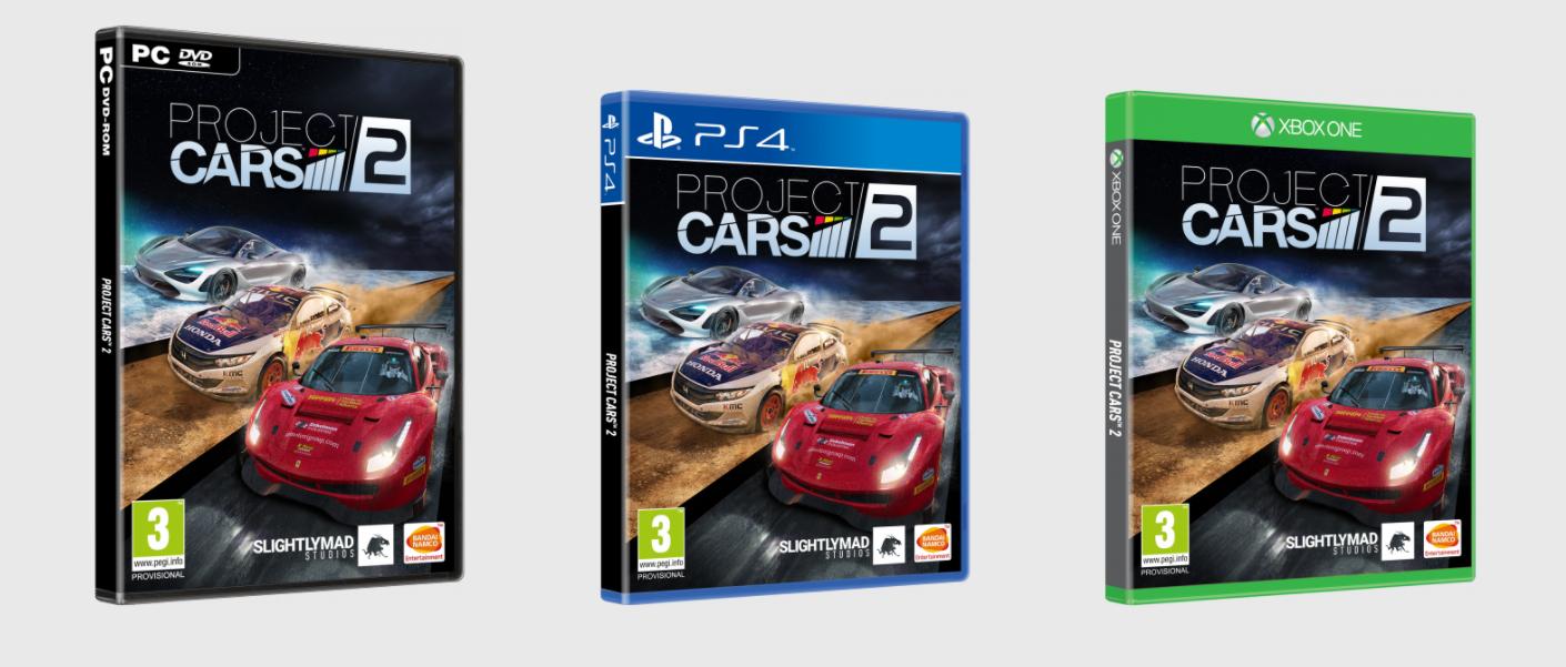 Project CARS 2 : Passage en revue des différentes éditions proposées.