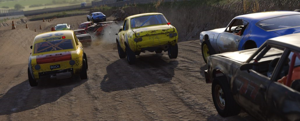 Wreckfest - Mise à jour importante en juin et sortie consoles annoncée.