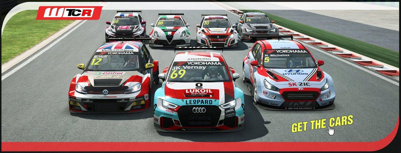 Raceroom - Présentation du WTCR en vidéo