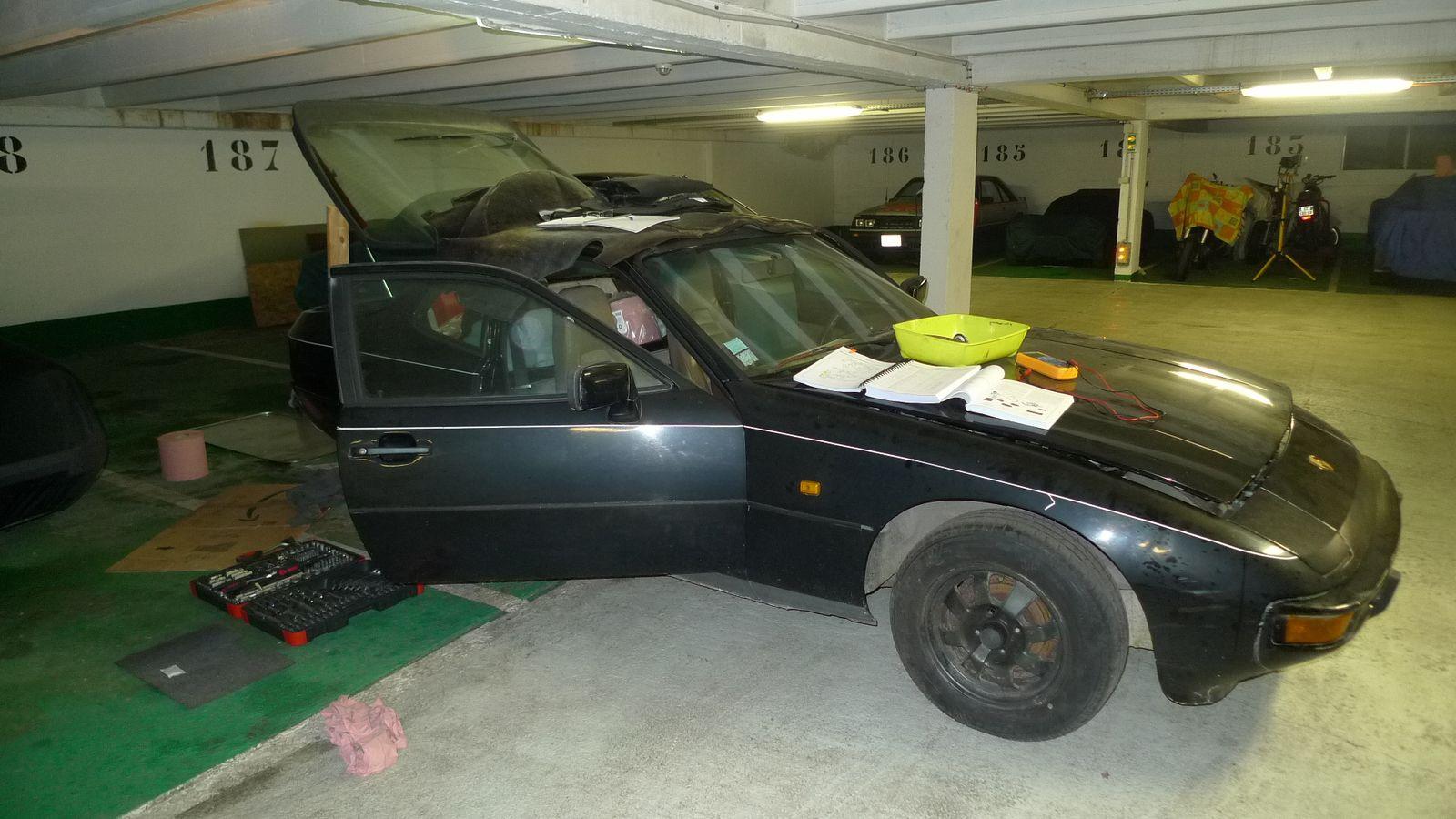 Porsche 924 : Les pompes à carburant