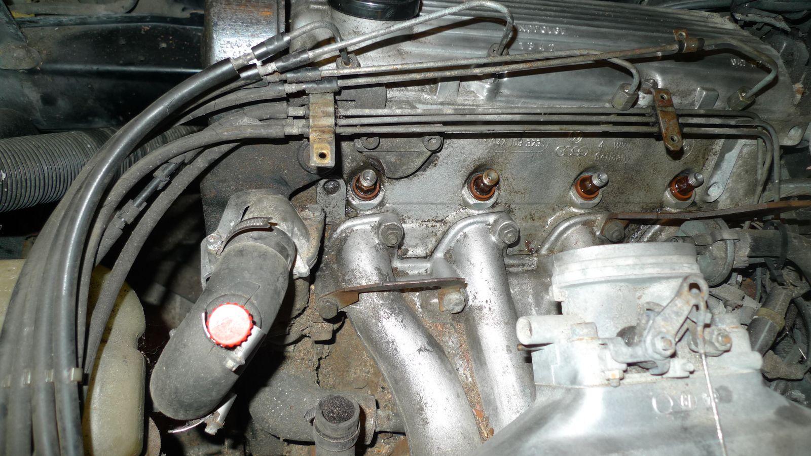 Porsche 924 : Filtre et injecteurs