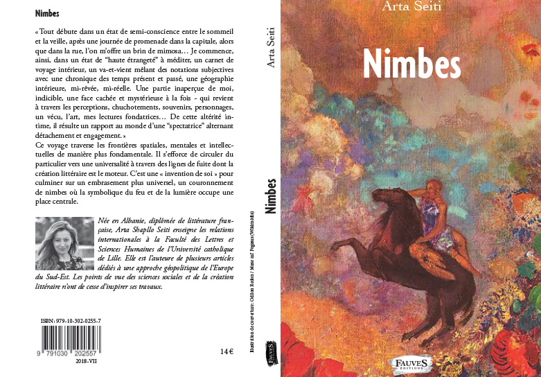 """Nimbes"" ( Fauves Editions)"