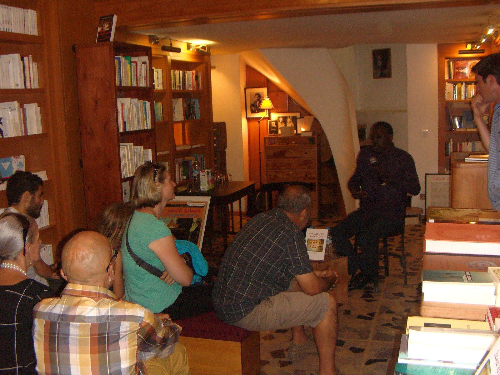 Librairie des Colonnes de Tanger.