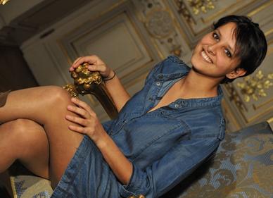 Najat Vallaud-Belkacem NVB présidentielles candidate