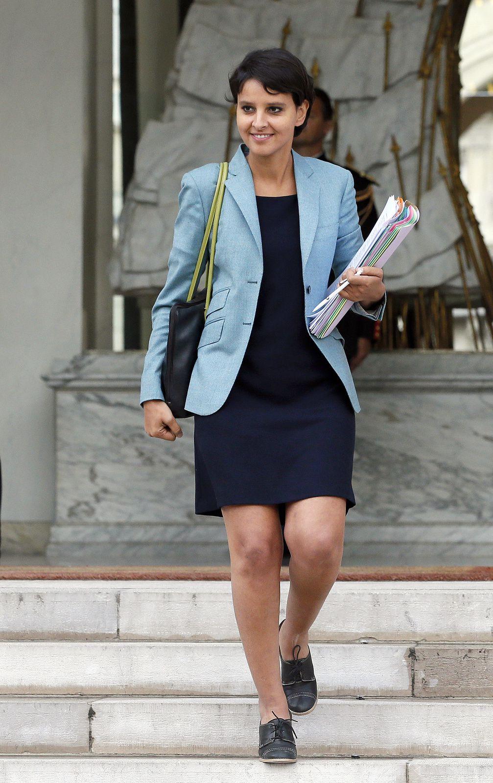 Najat Vallaud-Belkacem, le 10 septembre 2012