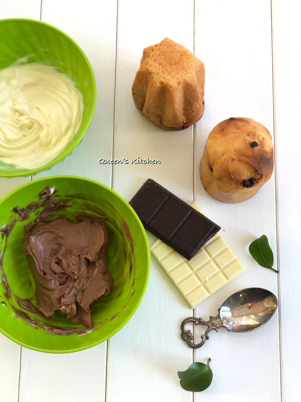 Panettoncini e Pandorini alla Crema