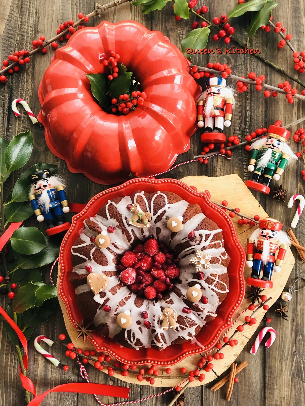 Per Natale mi sono regalata uno stampo da bundt cake Nordic Ware.