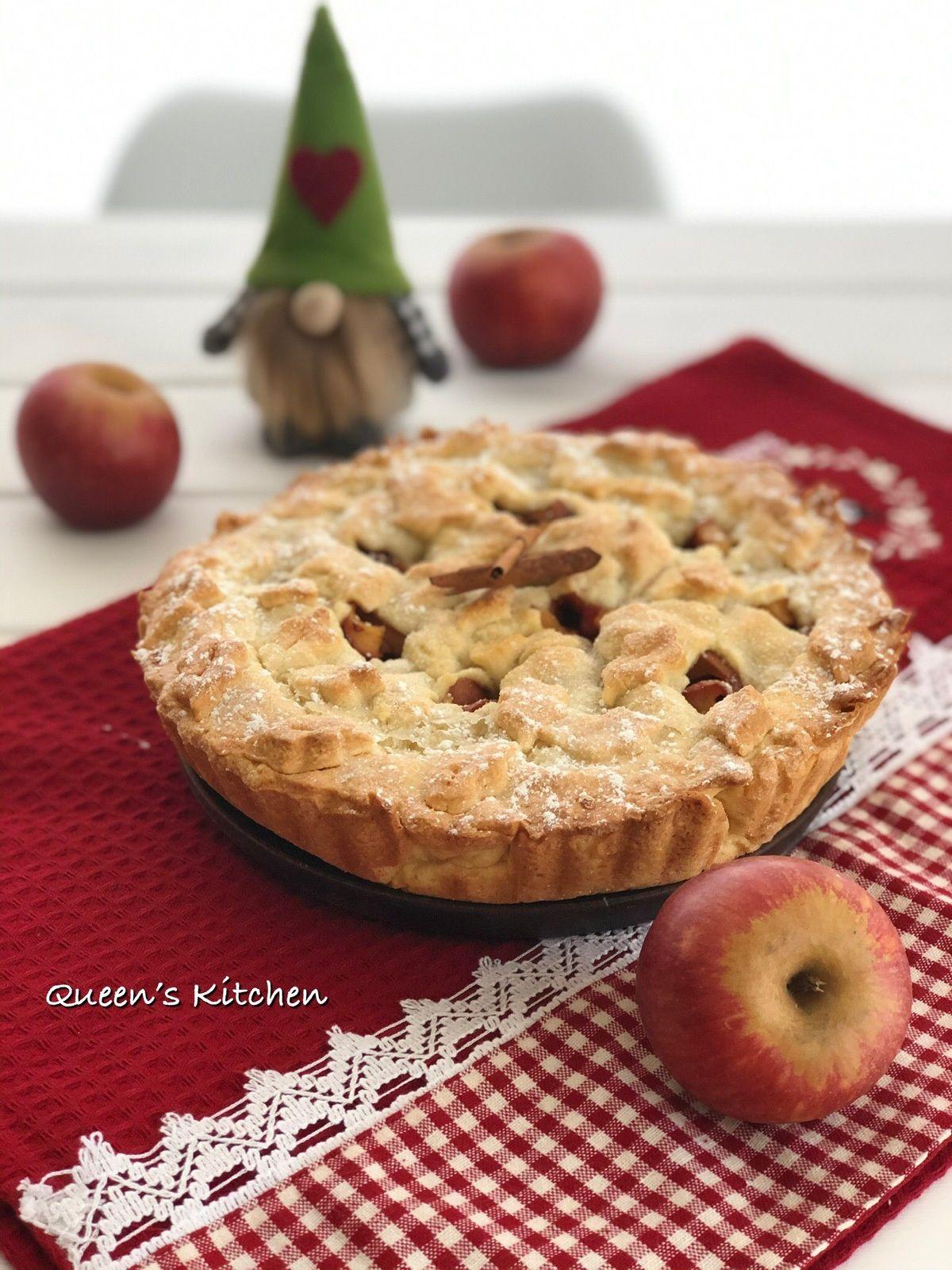 L'Apple Pie è perfetta per concludere in bellezza il pranzo del Ringraziamento!