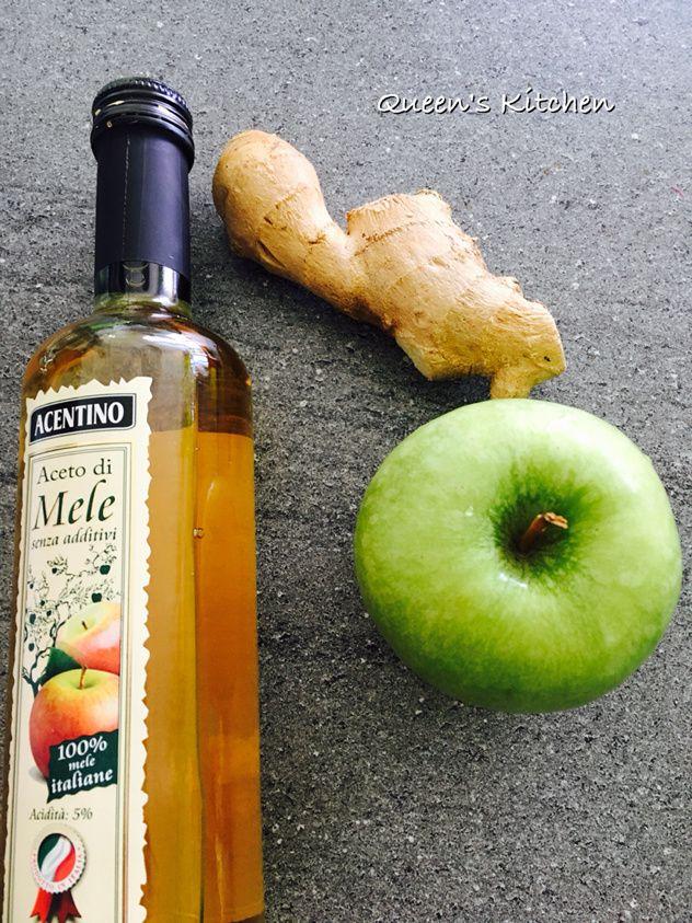 insalata di pollo al lime e zenzero con avocado radicchio e mela verde