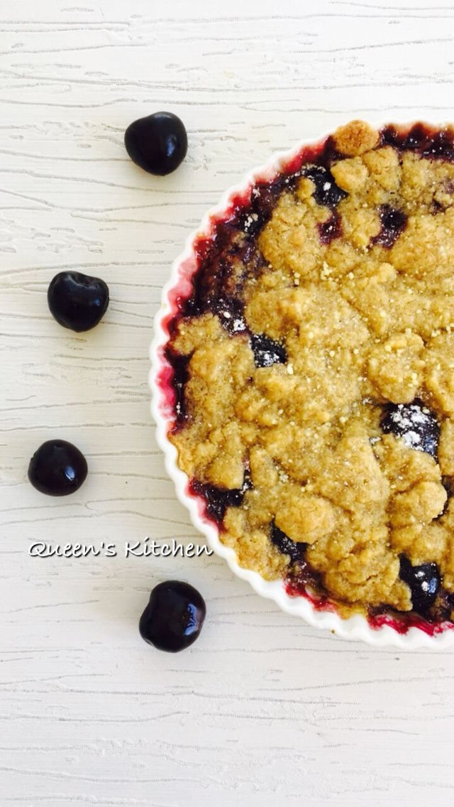 crumble alle ciliegie