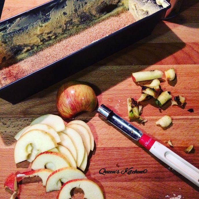 plumcake di avena alle mele