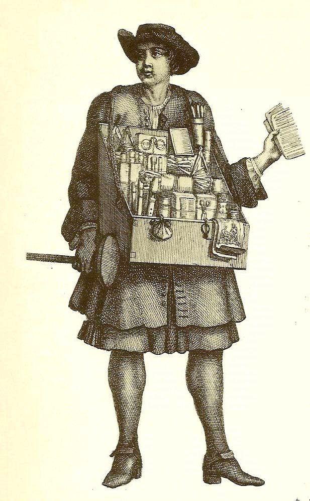 Mercier au Xixéme siècle