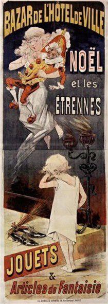 Affiche  BHV 1890