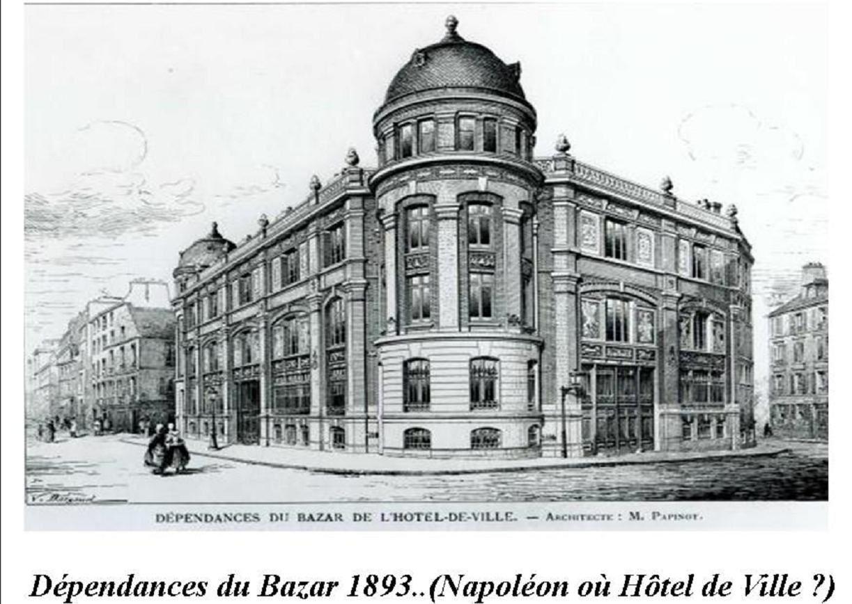 Du Grand-Magasin Parisien à leurs œuvres sociales 7/22 par JP Franssens.