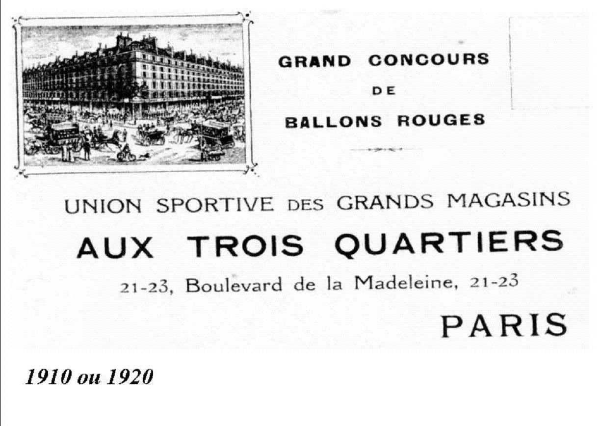 Du Grand-Magasin Parisien à leurs œuvres sociales 16/22 par JP Franssens.