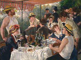 P.A. Renoir : Le déjeuner des canotiers