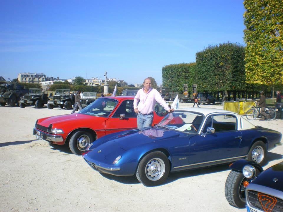 François Clerget et la fin de la journée des voitures anciennes