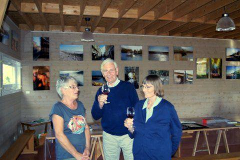 Doris et Michel apprécient le Pinot noir.
