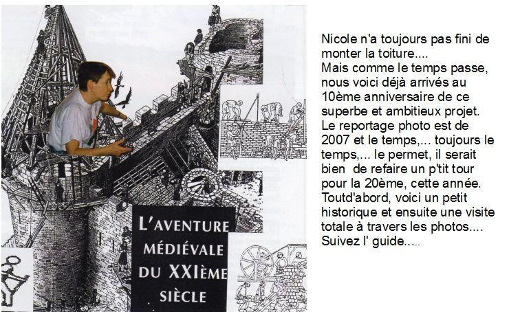 Guédelon par Jean-Pierre Franssens