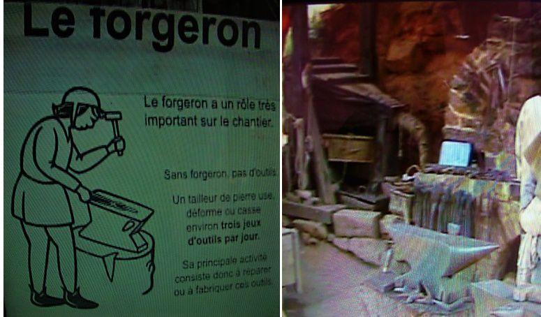 Guédelon  2ème visite.....suivez l'guide....Jean-Pierre