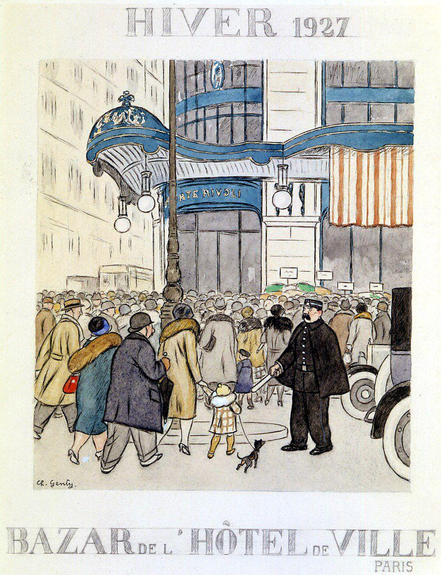 Memoires Le Bhv A Travers L Histoire N 41 En 1927 Le Blog Du Reseau Bazar Bhv