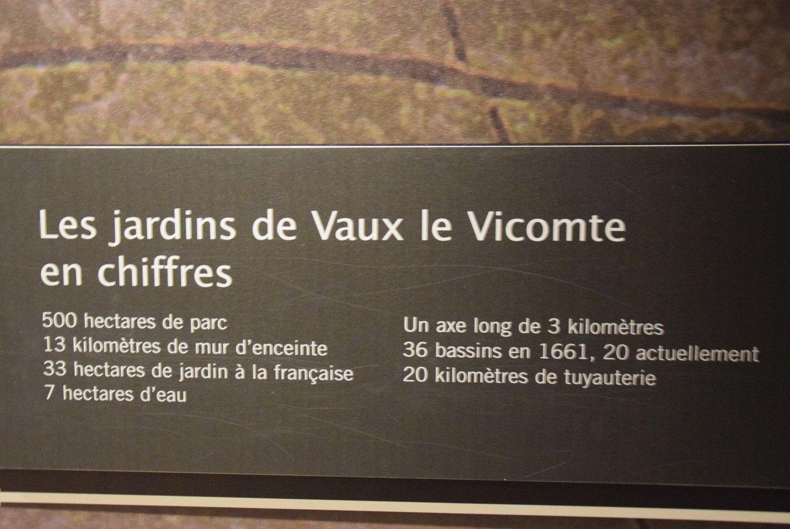 En ballade à Vaux le Vicomte... 2 les jardins...