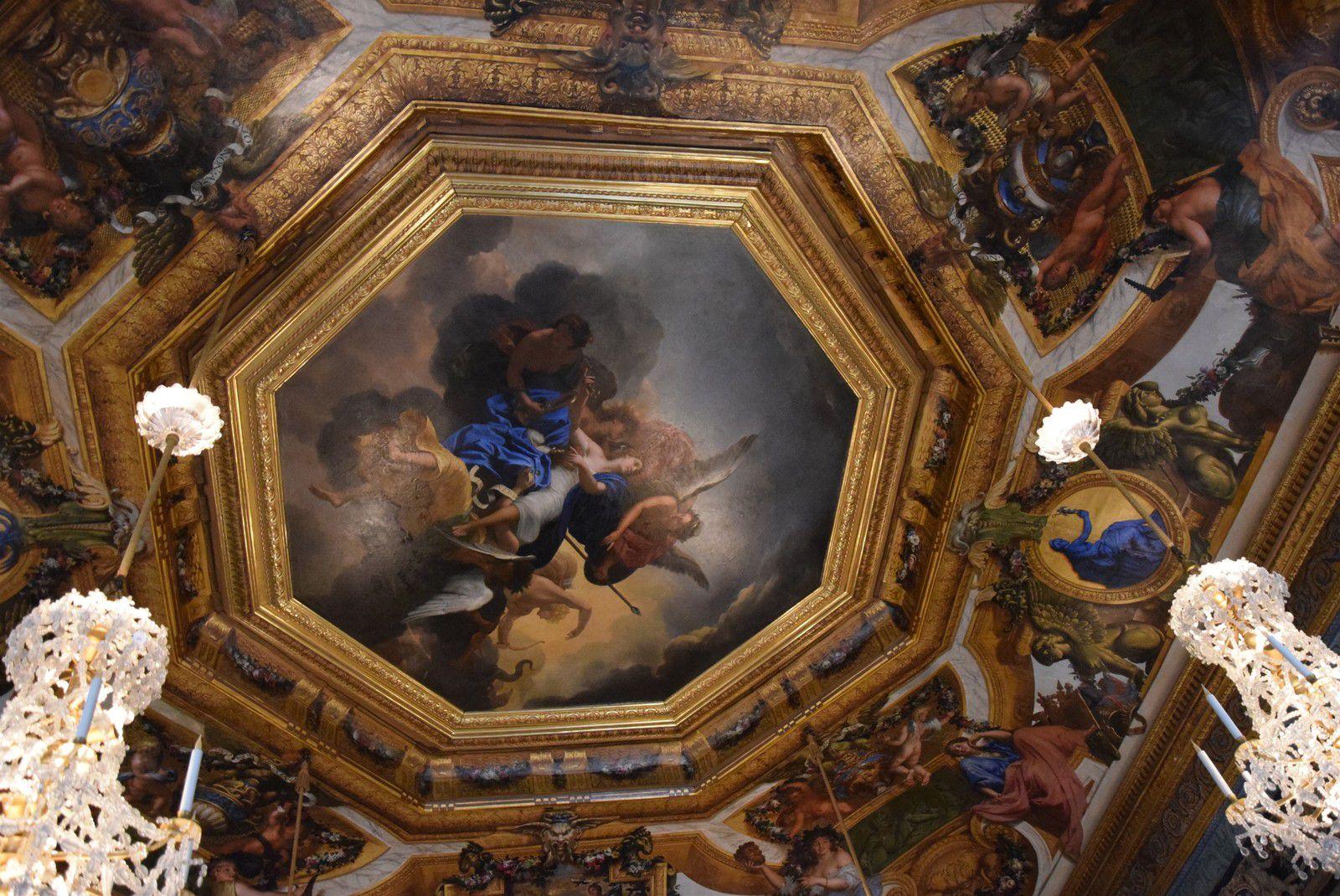 En ballade à Vaux le Vicomte... 3 L'intérieur...première partie.